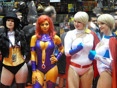 (SOULofXILE) Tags: chicago anime comics dc cosplay videogames convention starfire powergirl c2e2 zantana