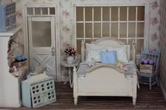 tiny shop <3 (*Joyful Girl  Gypsy Heart *) Tags: miniatures chair handmade country mini chic etsy 112 hydrangeas dollhouse shabby lati joyfulgirlgypsyheart