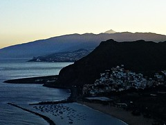 Sunset in Las Teresitas (Pum Abbey) Tags: las sunset beach islands spain europe el tenerife canary majestic teide teresitas