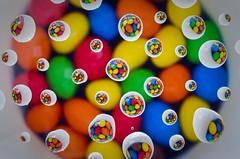 M & Ms In Water Droplets (grahambrown1965) Tags: colour macro water droplets mms pentax sweet sweets droplet waterdroplets waterdroplet justpentax pentaxart smcpentaxdfa50mmf28macro pentaxk5iis k5iis