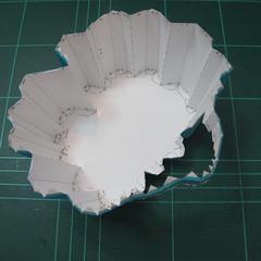 วิธีทำโมเดลกระดาษคุกกี้รัน คุกกี้รสเมฆ (Cookie Run Cloud Cookie  Papercraft Model) 001