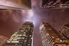Hong Kong 13 (Raphal Melloul) Tags: city moon skyline architecture night buildings photography hongkong lights photo nikon photographer angle photos wide picture best awsome hong kong nikkor raphael nuit f28 ville d800 photographe photographies melloul 1424mm