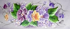 SAM_4608 (patriciaangelo2014) Tags: de pano em rosas prato copa pintura tecido girassol fralda