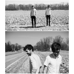Throwback Thursday: Indiana w/ Carousel (THE THER COLLECTION) Tags: blackandwhite bw cornfield indiana carousel cherub ontour blowd jacksonphillips kevinfriedman