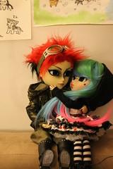Hash and Nanako (cybrilicious) Tags: pullip hash taeyang tokidokiluna