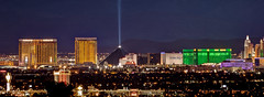 Here Comes the Night (Motel George) Tags: eastside lasvegasstrip lasvegasskyline luxorpyramid canon400mm56l canon5dmarkii luxorskybeam