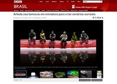 Thanks BBC Brasil! (Pikebubbles) Tags: toy toys actionfigure miniatures miniature figurines littlepeople figurine smallworld toyart davidgilliver miniatureweekly davidgilliverphotography