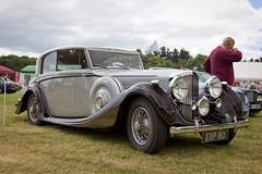 Bentley 1938 (torquayadam) Tags: show classic car canon 1938 restored restoration saloon coupe bentley 2014 powderham 2dr 24105l 550d worldcars