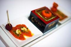 Sockeye salmon 3 ways (g.aftermath) Tags: light food sushi japanese 50mm nikon sashimi 14 budapest salmon nobu sockeye gastronomy