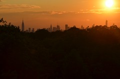 Sun Over Manhattan