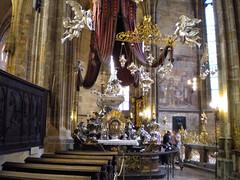 Tomb of St. John Nepomuk at St. Vitus - Prague, Czech Republic (jim324w) Tags: travel vacation church saint europe republic czech prague tomb vitus nepomuk 2011 europe2011