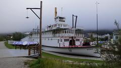 DSC09253 (2) Keno (Allen Woosley) Tags: keno dawson city yukon river territory restoration preservation stern wheeler steam ship
