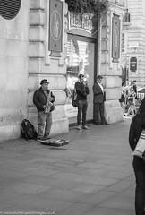 Blowing the Horn (Wayne Stiller) Tags: busking london musical sax saxaphone street