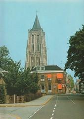 Ansichtkaart - Gorinchem, Grote Kerk (Barry van Baalen) Tags: ansichtkaart ansicht gorinchem postcard churchtower tower kerktoren