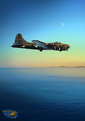Alone: The Last Flight of Madame X, Painting by Ron Cole (ColesAircraft) Tags: b17 flyingfortress b17e wwii ww2 roncole guadalcanal bougainville aviationart aircraftart painting prints