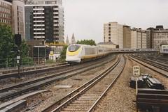 373213 Vauxhall 3/6/1995 (Martin Coles) Tags: trains train rail railways railway eurostar class373 vauxhall 373213 3213