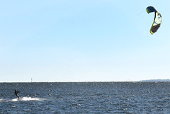 Kite surfing near Skyway Bridge in St. Petersburg (26) (Carlosbrknews) Tags: kitesurfing stpetersburg skywaybridge tampa bay florida