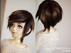 Chocolate (Frappzilla) Tags: bjd wig unoa lusis doll