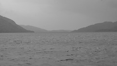 Loch Lomond - My Last View (brightondj - getting the most from a cheap compact) Tags: scotland lochlomond trossachs loch bw landscape water summer2016 holiday summerholiday uk britain ukholiday