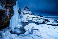 Kikjufellsfoss Winter (Snorri Gunnarsson) Tags: kirkjufellsfoss kirkjufell snorrigunnarsson photo tours photography workshops iceland frozen wow