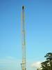 Tall crane, a skyscraper of sorts (Monceau) Tags: tall construction crane skyscraper sortof odc yellow