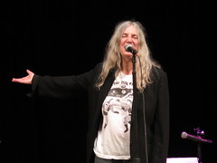 """Patti Smith - Patricia Lee """"Patti"""" Smith : In Conversation with 9:30 Club co-owner Seth Hurwitz About Her Bestselling Memoir, 'M Train' (Peter Hutchins) Tags: patti smith pattismith patricia lee in conversation with 930 club coowner seth hurwitz about her bestselling memoir m train tonyshanahan shanahan tony"""
