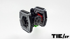 Tie/sf (curtydc) Tags: microfighter star wars tie fighter xwing awing atst ywing moc lego custom