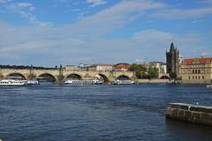 Charles Bridge in Prague (Karel1999 Over a Million views ,many thanks) Tags: vltava prague czechrepublic river