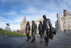 Then the world (Cycletog) Tags: beatles buildings fisheye liverbuildings liverbirds liverpool threegraces waterfront