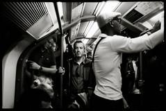 Underground (danielesandri) Tags: londra london uk pellicola fomapan rollei35s rollei biancoenero bw underground 135 film