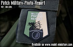 Patch avec scratch inclus (Velcro mle et femelle inclus) (Model-Miniature / Military-Photo-Report) Tags: patch patches scratch pvc velcro militaryphotoreport military photo report