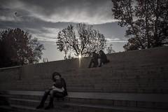 PB250003 (Tommaso A.) Tags: people gente gm5 em5 olympus zuiko 20mm17 20mm f17 woman mother kid child baby street strada sun sunset
