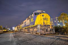 YN2 MAC Attack (WillJordanPhoto) Tags: trains southern southcarolina univercity usc gamecocks yn2 sd70mac columbia america night long exposure railroad railway