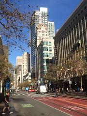 Downtown San Francisco (tompa2) Tags: sanfrancisco bil höghus gata