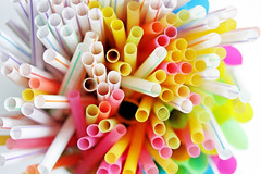 Party-Strohhlme (wuestenigel) Tags: stock celebration stockphoto pink drinks party colourful kids straws juice holiday yellow