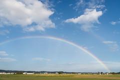 虹 (fumi*23) Tags: d600 nikon tamron a09 field sky rainbow tamronspaf2875mmf28xrdi lightroom 虹 空 ニコン タムロン