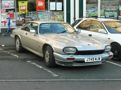 Nice old XJS (petelovespurple) Tags: jaguar car jag