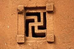 Swastika Window, Biet Maryam, Lalibela, Ethiopia (Veeds) Tags: africa ethiopia lalibela church rock monolith architecture history culture religion landmark