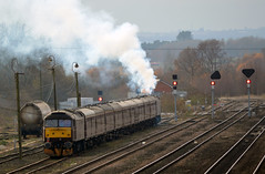 47854 'Diamond Jubilee' TnT 47804 (TRRPG Admin (Pending)) Tags: 47854 diamond jubilee tnt 47804 settle down barnetby sidings for afternoon after completing first leg the christmas cracker railtour linlithgow lincoln central