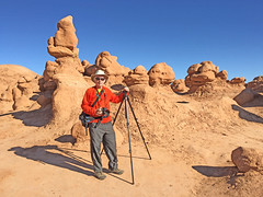 Photographing Hoodos (Explored) (Runemaker) Tags: dl runemaker goblinvalley statepark utah hoodoos redrock grotesque rock formations desert wilderness landscape nature