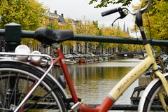 Keizersgracht canal (fletcherd5) Tags: keizersgracht trees tree canals canal dof depthoffield netherlands holland amsterdam bicycles bicycle bikes bike
