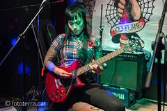 Jenny Woo [New Underground BCN, Barcelona 11.11.2016] (Fototerra.cat) Tags: oi music oimusic jennywoo música skinheads skingirl skinhead barcelona bcn fototerracat nikon nikondf live directe