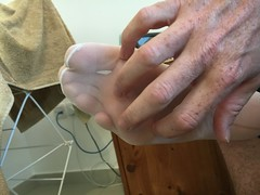 Tickling balls of feet (jimsuliman) Tags: tickling feet tickle ticklish tootsies foot socks fetish smelly tights nylons stockings stinky itchy coochie