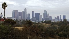 Downtown LA 2016 ( Slices of Light   ) Tags: downtown skyline cityscape city urban landscape angels point elysian park los angeles losangeles la   cityofangels california   californie  kalifornien tatsunis america  estados unidos olympus ep5