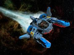 Vic Viper 2016 (cjedwards47) Tags: lego moc space spaceship novvember vicviper