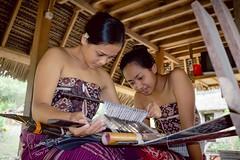 Making Batik (andrawayan) Tags: batik bali balinese woman art souvenir candid portrait tenganan pegringsingan indonesia karangasem