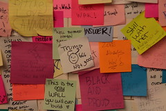 IMG_2237 (neatnessdotcom) Tags: union square subway station postit notes wall tamron 18270mm f3563 di ii vc pzd canon eos rebel t2i 550d