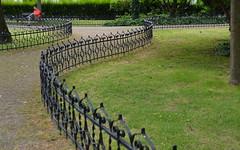 in a park (Hayashina) Tags: slovakia bratislava fence park hff