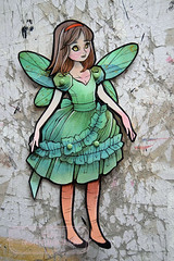 Agrifoglio - OOAK hand-painted paper doll (The Girl with the Flaxen Hair) Tags: natiart papercraft papergoods paperdolls articulatedpaperdolls artdolls ooak handmade homemade handpainted animemanga fantasy kawaii cute