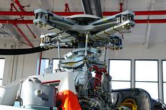 MH-65D Rotor Head (Ian E. Abbott) Tags: rotorhead uscoastguardairstationsanfrancisco uscgairstationsanfrancisco uscoastguardsfo uscgsfo uscoastguard uscg uscoastguardhelicopters uscghelicopters coastguardhelicopters coastguard helicopters sanfranciscointernationalairport sanfranciscoairport sfo
